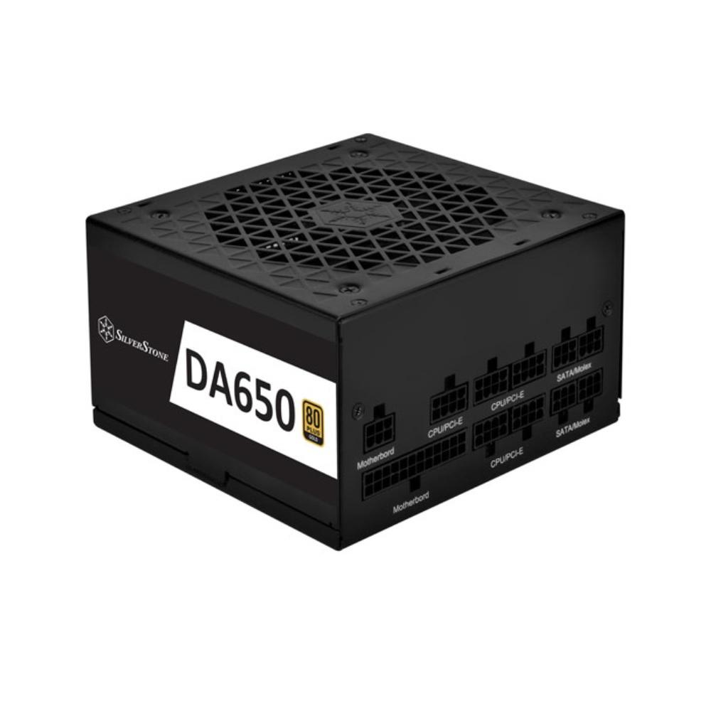 価格 交渉 送料無料 SilverStone SST-DA650-G 80 Gold 時間指定不可 PLUS 650WフルモジュラーATX電源