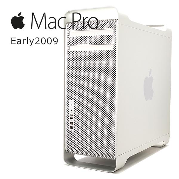 中古デスクトップパソコン Apple 中古パソコン MacPro Early 2009 Xeon 8GBメモリ Mac OSX 【中古】