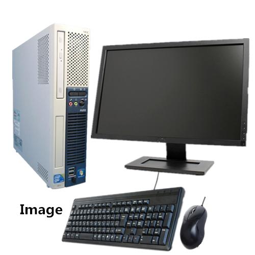 【24型大画面液晶セット】【新品1TB】【メモリ8GB】【Office 2013】【無線付】【Win 7 Pro 64bit】日本メーカー NEC ME-A 爆速Core i5 650 3.2G/中古パソコン
