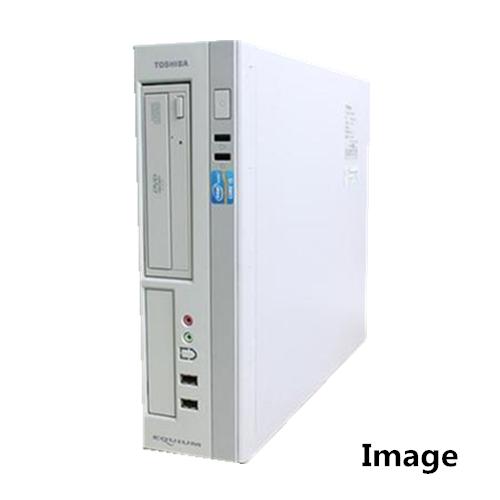 中古パソコン デスクトップ Windows【WPS Office付】【無線WIFI有】【Windows 10 Home 64Bit搭載】東芝 EQUIUM 4000 Core i5 2400 3.1G/メモリ4GB/500GB/DVD-ROM
