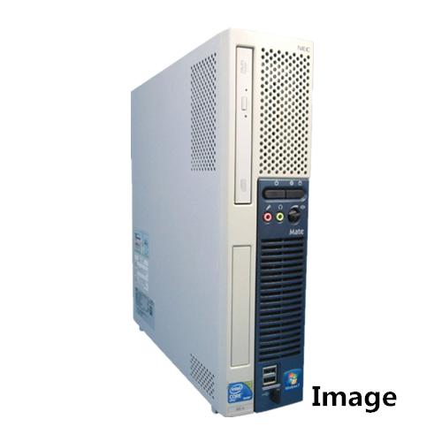メモリー大容量、Windows10がセットアップ済、オススメです。 中古パソコン Windows10 デスクトップパソコン【無線有】NEC ME-B Core i5 650 3.2G/4G/新品SSD 120GB/DVD-ROM