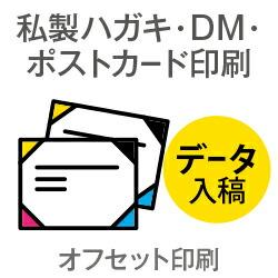 6500枚■【ポストカード/私製ハガキ印刷】 マットカード220kg/納期6日/両面フルカラー
