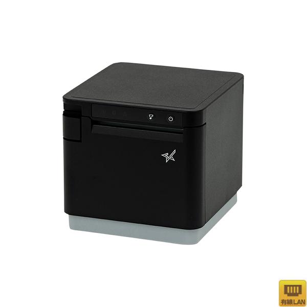 【スター精密】多機能レシートプリンター MCP31L BK JP(USB・LAN/80mm・58mm対応/ブラック)【代引手数料無料】♪