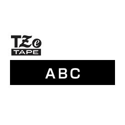 ブラザー正規代理店 TZe-335 ピータッチ用テープカートリッジ ラミネートテープ 特価品コーナー☆ 高級品 白文字 黒地 12mm
