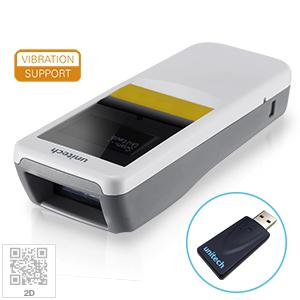 ユニテック 照合機能付 2Dワイヤレスポケットスキャナ MS926P (専用ドングル・充電クレードル付)