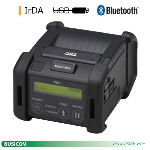 TEC 2inch幅ポータブルプリンタ B-EP2DL(IrDA+USB+Bluetooth)【代引手数料無料】♪
