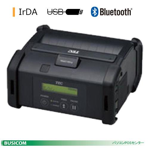 TEC 4inch幅ポータブルプリンタ B-EP4DL(IrDA+USB+Bluetooth)【手数料無料】♪