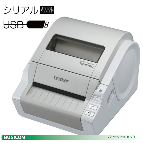 【brother/ブラザー】感熱ラベルプリンター TDシリーズ TD-4000【代引手数料無料】♪