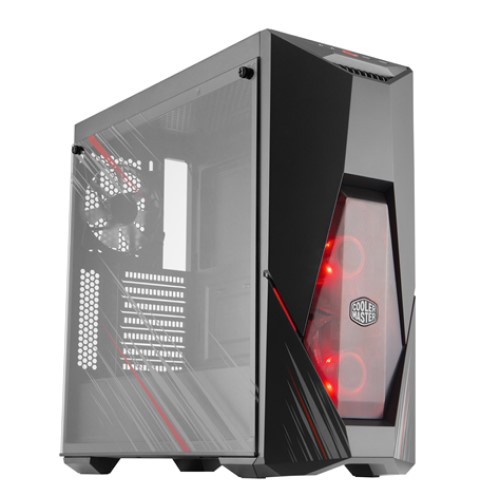 Cooler Master MCB-K500D-KGNN-ASR 「Phantom Gaming」とのコラボPCケース MasterBox K500 Phantom Gaming Edition