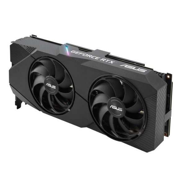 新製品 ASUS DUAL-RTX2060S-O8G-EVO [RTX2060SUPER/GDDR6 8GB] GeForce RTX 2060 SUPER 搭載グラフィックカード