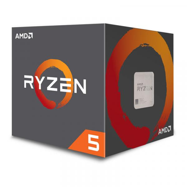 AMD Ryzen 5 2600 with Wraith Stealth Cooler YD2600BBAFBOX Pinnacle Ridge [3.4-3.9GHz/6C/12T/AM4]