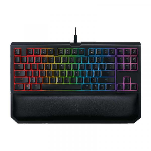 【Gaming Goods】Razer RZ03-02190700-R3M1 BlackWidow Tournament Edition Chroma V2 - Orange Switch オレンジ軸
