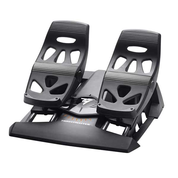 【Gaming Goods】Thrustmaster T.Flight Rudder Pedals ラダーペダル for PS4/PC TFRP Rudder /2960766 ゲームコントローラ