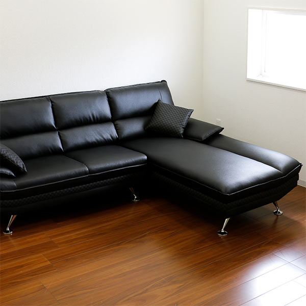 peace: The leather real leather case skin leather modern sofa simple ...