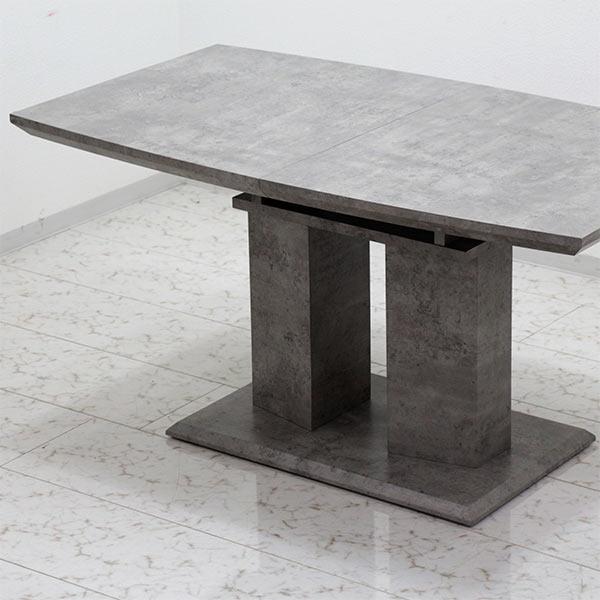 伸長式 テーブル ダイニングテーブル 幅140 幅180cm 伸縮可能 伸張式 伸長テーブル エクステンション テーブルのみ 単体 奥行き80cm シック モダン 木製 長方形 送料無料
