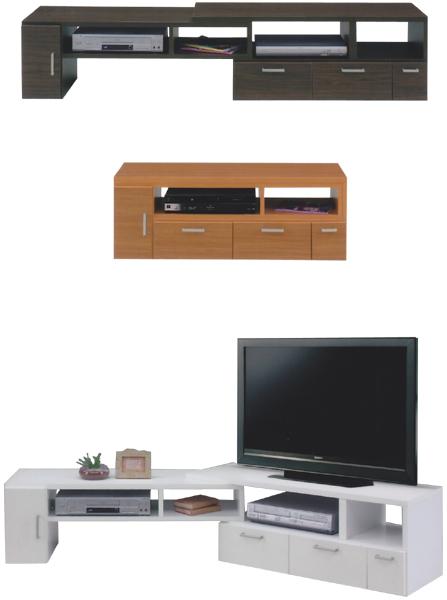 テレビ台 TVボード 色はダークブラウン色とナチュラル色とホワイト色の3色対応 AV収納 テレビ CD オーディオ収納 送料無料