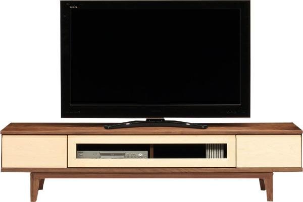 テレビ台 ローボード 幅180 ナチュラル ブラウン おしゃれ 脚付き 北欧 木製 収納家具 完成品 送料無料