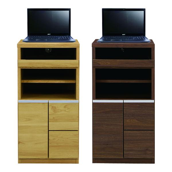 テレビ台 テレビボード 幅40cm スリム 小さめ 完成品 日本製 ブラウン ナチュラル 選べる2色 オープンスペース AV収納 奥行43cm 高さ80cm リビング収納 シンプル 木製 送料無料