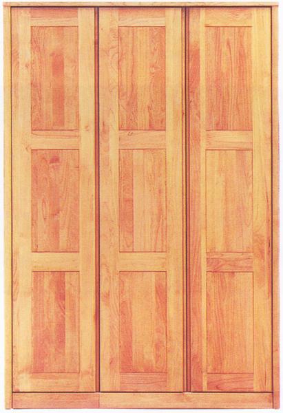 ワードローブ クローゼット ロッカー 服吊 幅120cm 北欧 シンプル モダン 国産 木製 完成品 アルダー材 送料無料