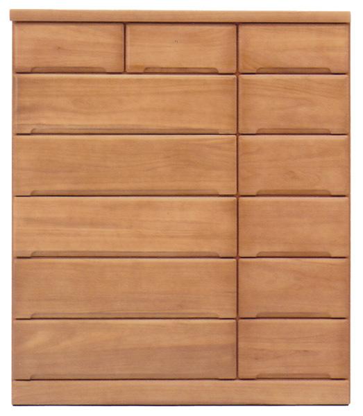 チェスト タンス ハイチェスト 桐材 幅120cm 6段 日本製 天然木 スライドレール シンプル ナチュラル 完成品 大川家具 送料無料