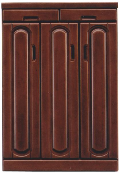 下駄箱 シューズボックス 靴箱 幅75cm 木製 ロータイプ 完成品 玄関収納 送料無料