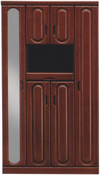 下駄箱 シューズボックス 靴箱 幅100cm 日本製 木製 ハイタイプ 完成品 玄関収納 送料無料