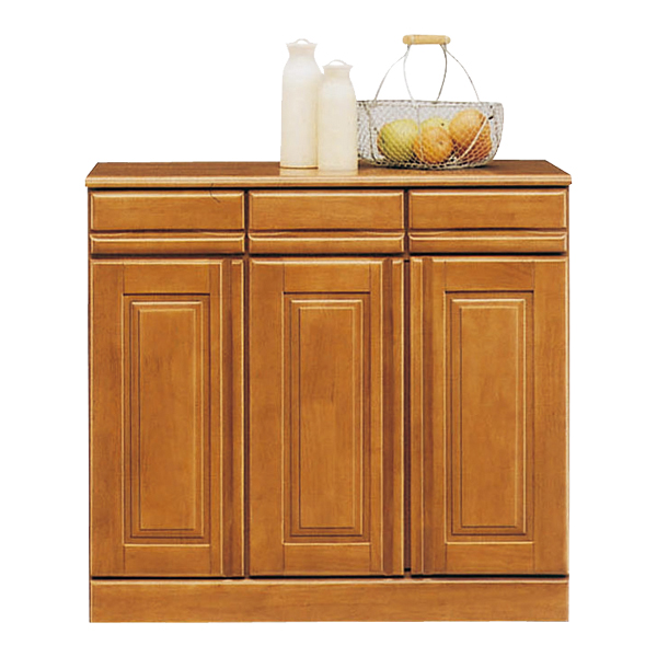 キッチンカウンター カウンター レンジボード キッチン収納 幅90cm 完成品 国産 送料無料