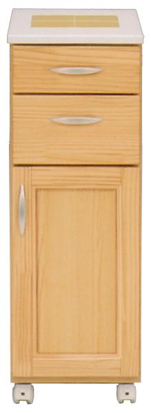 カウンターワゴン 多目的キッチン収納でスッキリ ワイド30cm 家具通販 通販 送料無料