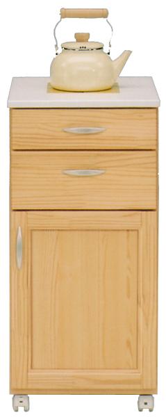カウンターワゴン 多目的キッチン収納でスッキリ ワイド40cm 送料無料