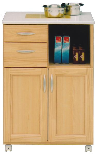 カウンターワゴン 多目的キッチン収納でスッキリ ワイド60cm 送料無料