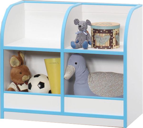 おもちゃ箱 収納ラック 幅80 高さ70 子供服 キッズ ホワイト ブルー ピンク 子供用 家具 木製 北欧 完成品 通販 送料無料
