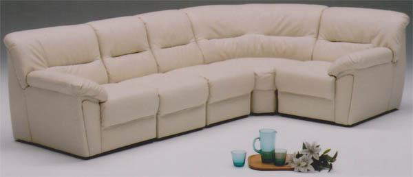 コーナーソファ ソファセット アイボリー ブラウンの2色対応 ソファーセット コーナーソファー 送料無料