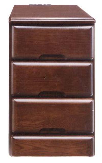 ナイトテーブル ベッドサイドテーブル ミニチェスト ベッドサイドチェスト 幅30cm コンセント付き シンプル モダン 木製 完成品 ニレ材 通販 送料無料