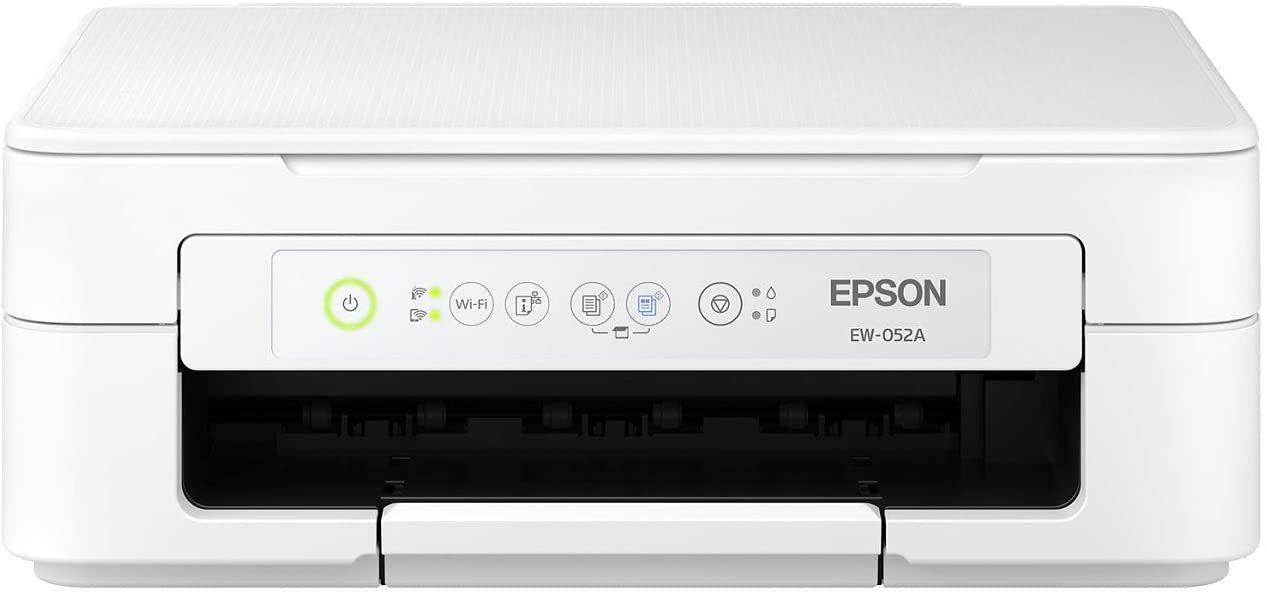 大人気商品入荷 エプソン 超激得SALE プリンター 早割クーポン インクジェット複合機 2019年新モデル カラリオ EW-052A