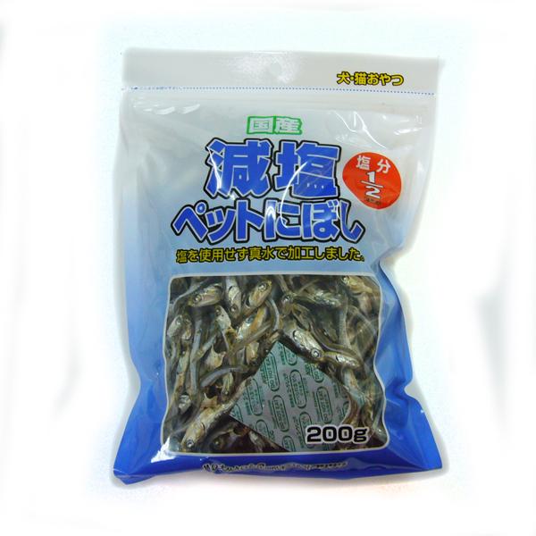 【店頭受取対応商品】 [本]【フジサワ】 国産 減塩 ペット にぼし 150g