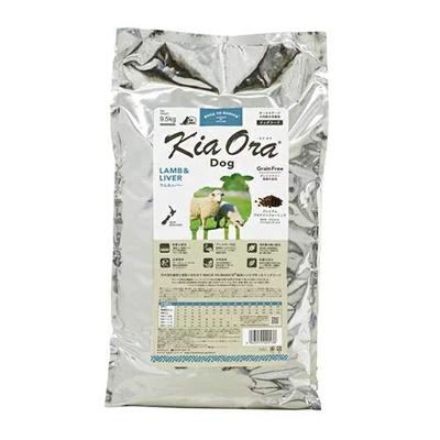 【キアオラ】KiaOra ドッグフード ラム&レバー 9.5kg