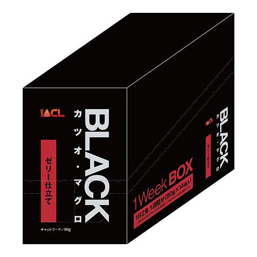 本 IACL ブラック カツオ 海外 マグロ 1ボール 80g 80g×14個入 ゼリー仕立て 超人気