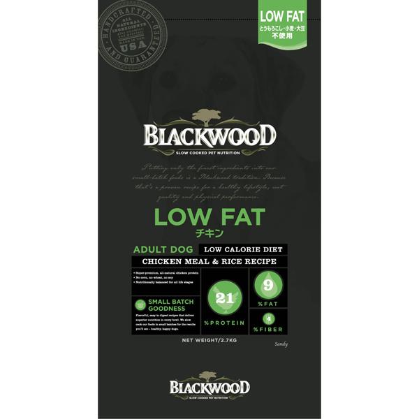 【ブラックウッド】 LOWFAT ローファット アダルト~シニア 20kg