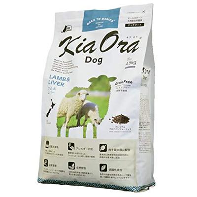 【キアオラ】KiaOra ドッグフード ラム&レバー 4.5kg