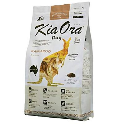 【キアオラ】KiaOra ドッグフード カンガルー 2.5kg