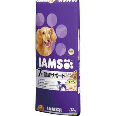 【アイムス】 7歳以上用 健康サポート チキン 小粒 12kg