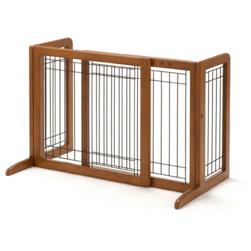 【リッチェル】 ペット用 木製おくだけゲート
