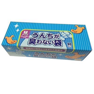 店頭受取対応商品 クリロン化成 ストアー BOS M うんちが臭わない袋 90枚 超特価SALE開催