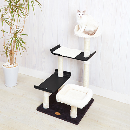 【アドメイト】 ヴィラフォートキャットポール ミドルタイプ 猫 ポール ハウス キャットタワー 新商品