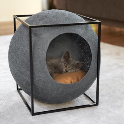 【MEYOU】 The CUBE キューブ キャットベッド 猫 くつろぎ