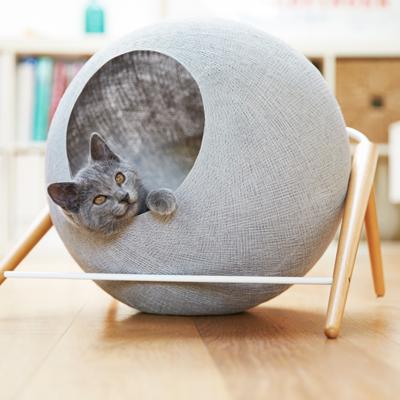 【MEYOU】 The BALL ボール キャットベッド 猫 くつろぎ