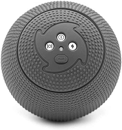 MyoStorm 温熱 電動 振動 マッサージボール ストレッチボール フォームローラー 筋膜リリース 輸入品
