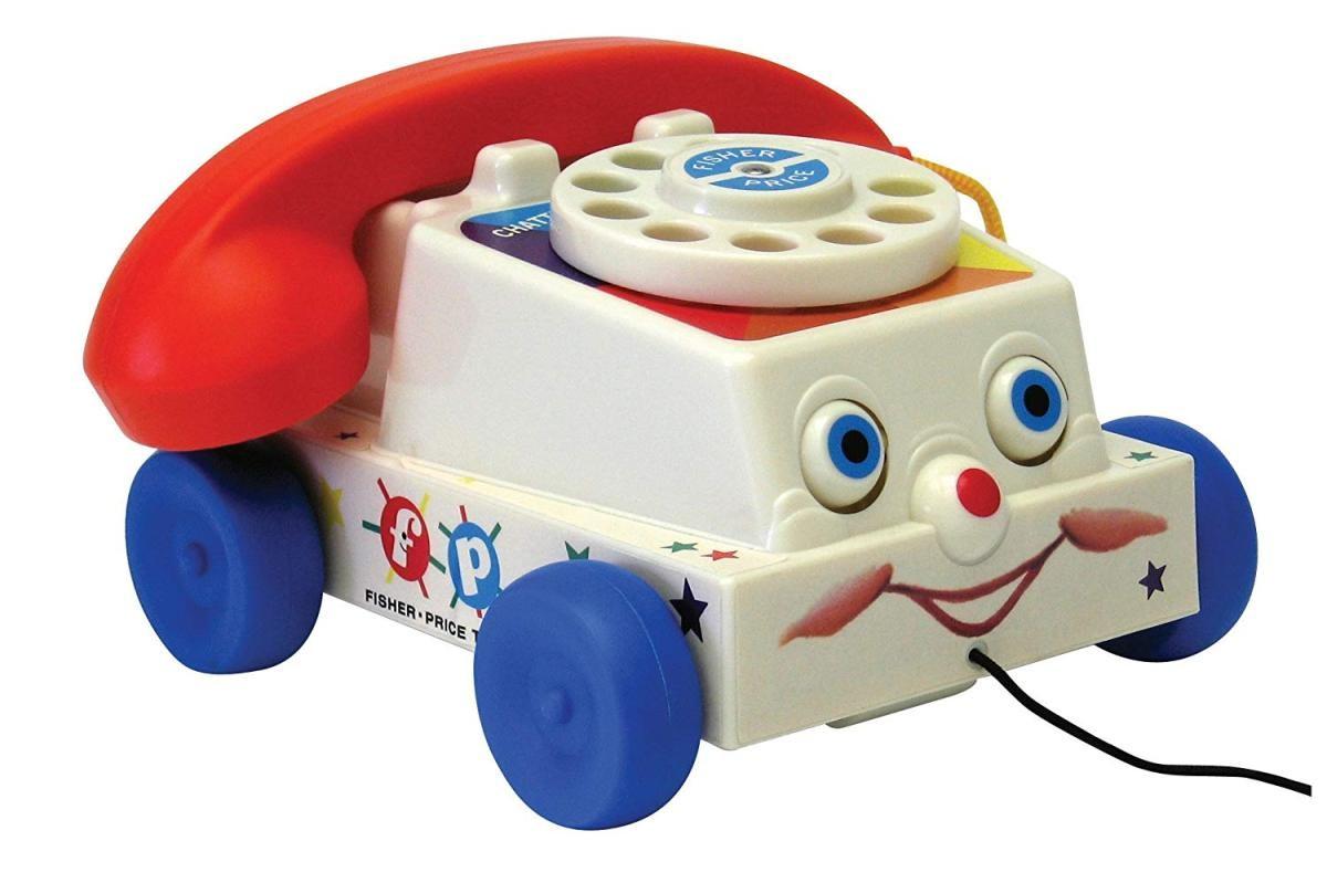 電話 高い素材 おもちゃ トイ ストーリー チャッターホン Fisher Price 輸入品 Chatter BF1694 Classics Phone 中古 -