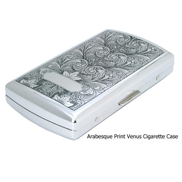 PEARL ヴィーナス12(85mm) アラベスクプリントシガレットケース 日本製