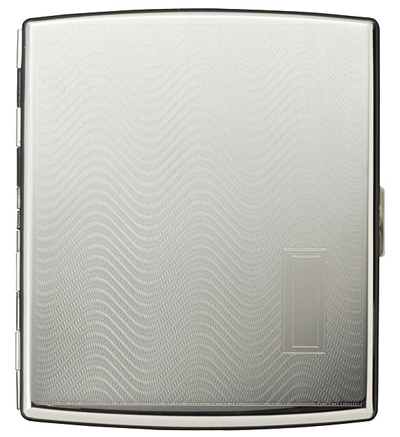 PEARL アクタス9(85mm) ウェーブ サダジウム シガレットケース 日本製